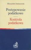 Staniszewski Mieczysław - Postępowanie podatkowe Kontrola podatkowa
