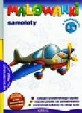 Malowanki 8 Samoloty + pisak. z naklejkami