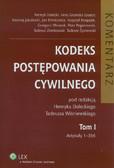 red. Dolecki Henryk, red. Wiśniewski Tadeusz - Kodeks postępowania cywilnego. Komentarz. Tom I