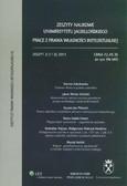 --- - Zeszyty Naukowe Uniwersytetu Jagiellońskiego. Prace z Prawa Własności Intelektualnej - Zeszyt 2 (112) 2011