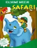Safari Kolorowe naklejki