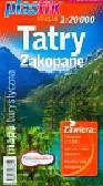 Tatry Zakopane mapa turystyczna