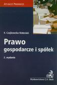 Czajkowska-Matosiuk Katarzyna - Prawo gospodarcze i spółek