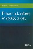Zdanikowski  Paweł - Prawo udziałowe w spółce z o.o.