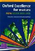 Quintana Jenny, Sosnowska Joanna, Gryca Danuta - Oxford Exellence for Matura New Exam builder podręcznik z repetytorium z płytą CD. Szkoła ponadgimnazjalna