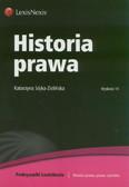 Sójka-Zielińska Katarzyna - Historia prawa