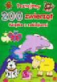 Poznajemy 200 zwierząt Książka z naklejkami