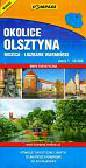 Okolice Olsztyna skala 1:50000