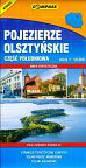 Pojezierze olsztyńskie część południowa skala 1:50000. Mapa turystyczna