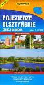 Pojezierze olsztyńskie część północna skala 1:50000. Mapa turystyczna