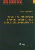 Klimkiewicz Luiza - Wpłaty na państwowy fundusz rehabilitacji osób niepełnosprawnych