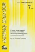 red. Cymerman Ryszard - Wycena nieruchomości a ochrona środowiska (ekologiczne uwarunkowania wyceny nieruchomości)