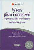 Dauter Bogusław, Drachal Janusz, Niezgódka-Medek Małgorzata - Wzory pism i orzeczeń w postępowaniu przed sądami administracyjnymi + CD