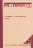 red. Garlicki Jan - Studia Politologiczne nr 21. Kultura polityczna internautów w Polsce