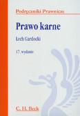 Gardocki Lech - Prawo karne