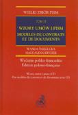Śniegucka Wanda, Krygier Magdalena - Wzory umów i pism Modeles de contrats et de documents Tom 13 + CD. Wydanie dwujęzyczne polsko - francuskie