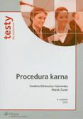 Klimowicz-Górowska Ewelina, Żurek Marek - Procedura karna. Testy dla studentów