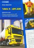 Kokociński Michał - Tabela A ADR 2009. Suplement do książki: Praktyczne aspekty stosowania ADR w przewozie towarów niebezpiecznych.