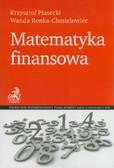 Piasecki Krzysztof, Ronka-Chmielowiec Wanda - Matematyka finansowa
