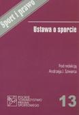 red. Szwarc Andrzej J. - Ustawa o sporcie