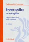 Radwański Zbigniew, Olejniczak Adam - Prawo cywilne - część ogólna