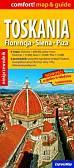 Toskania Florencja Siena Piza map & guide