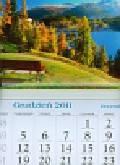 Kalendarz 2012 KT06 Ławeczka trójdzielny