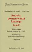 Hofmański Piotr (red.), Sadzik Elżbieta, Zgryzek Kazimierz - Kodeks postępowania karnego. Tom II. Komentarz do artykułów 297-467