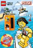 Lego City Plusk. Minifigurka i megaplakat