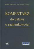Seredyński Roman, Szaruga Katarzyna - Komentarz do ustawy o rachunkowości