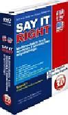 Say It Right 3.0. Multimedialny kurs wymowy i słownictwa angielskiego