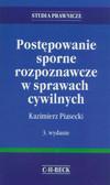 Piasecki Kazimierz - Postępowanie sporne rozpoznawcze w sprawach cywilnych
