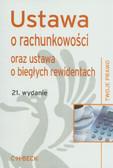 Ustawa o rachunkowości oraz ustawa o biegłych rewidentach