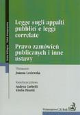 Prawo zamówień publicznych i inne ustawy