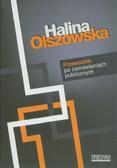 Olszowska Halina - Przewodnik po zamówieniach publicznych