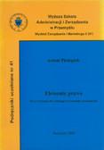 Pieniążek Antoni - Elementy prawa. Zarys wykładu dla studiujących kierunki ekonomiczne