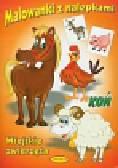 Malowanki z nalepkami Wiejskie zwierzęta Koń