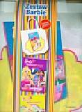 Barbie Zestaw 2 książki + torba