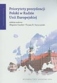 Priorytety prezydencji Polski w Radzie Unii Europejskiej