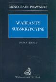 Gębusia Iwona - Warranty subskrypcyjne