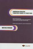 Winiarz Mateusz - Zamówienia publiczne o wartości poniżej 14 tys. euro (+CD)