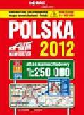 Polska Atlas samochodowy 2012 1:250 000