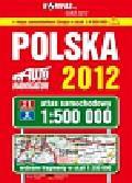 Polska Atlas samochodowy 2012 1:500 000