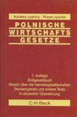 Polnische Wirtschaftsgesetze. Polskie ustawy gospodarcze