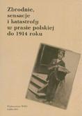 red. Stępnik Krzysztof, red. Gabryś Monika  - Zbrodnie, sensacje i katastrofy w prasie polskiej do 1914 roku