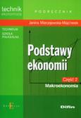 Mierzejewska-Majcherek Janina - Podstawy ekonomii część 2 Makroekonomia Podręcznik. Technikum, szkoła policealna