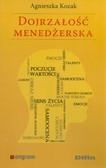 Kozak Agnieszka - Dojrzałość menedżerska