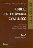 Hrycaj Anna, Jakubecki Andrzej, Rylski Piotr - Kodeks postępowania cywilnego Komentarz Tom 5. Artykuły 1096 - 1217
