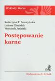 Boratyńska Katarzyna T., Chojniak Łukasz, Jasiński Wojciech - Postępowanie karne