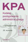 Kodeks postępowania administracyjnego. z wprowadzeniem